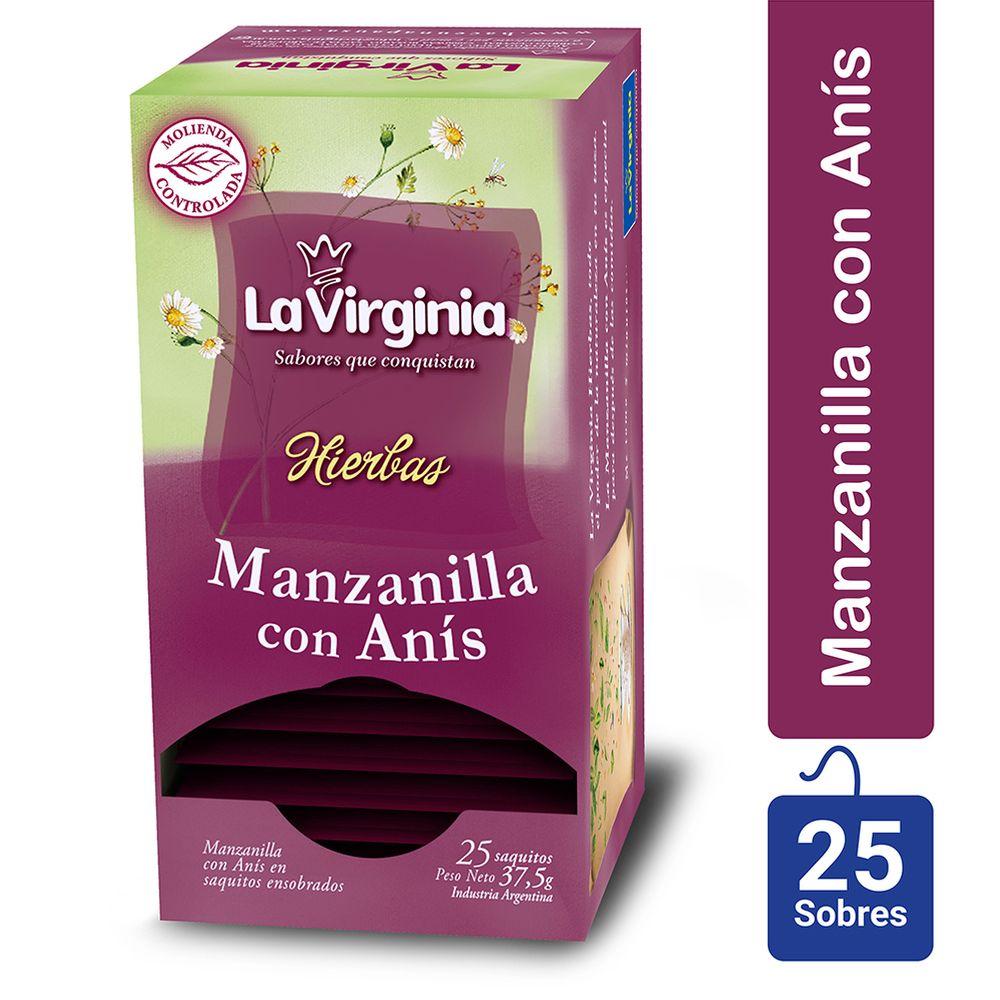 Te Manzanilla Con Anis La Virginia Minicostos